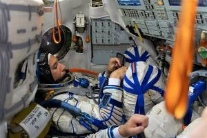 El astronauta Luca Parmitano.