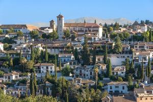 San Nicolás desde la Alhambra.