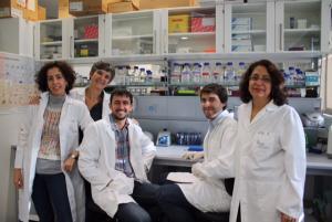 Grupo de investigación de Verónica Ramos-Mejía.