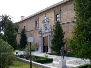 Hospital Real, sede del Rectorado de la UGR.