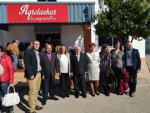 Visita a Agroláchar, una de las principales cooperativas de espárrago.