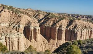 Desierto de los Coloraos de Gorafe.