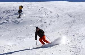 La estación ha alcanzado el máximo de superficie esquiable.
