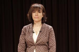 La profesora Aurelia Martín Casares.