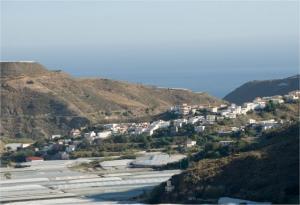 Invernaderos en Albuñol.