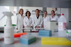 Equipo de investigadores de la UGR.