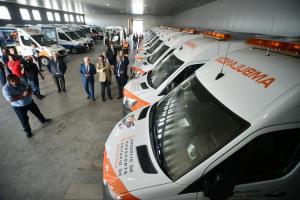 Ambulancias de transporte sanitario de Granada.