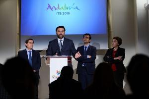 El consejero de Turismo ha presentado en Granada la participación en la ITB de Berlín.