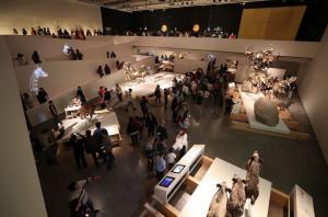 Imagen de una jornada de puertas abiertas en el museo.