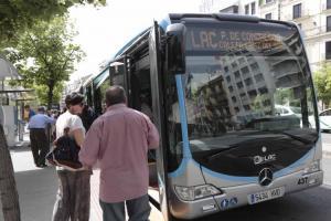 Uno de los autobuses que contarán con wifi gratis.