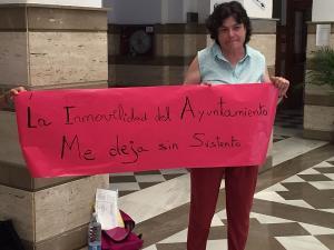 María Soledad Bueno, este martes en el Ayuntamiento de Motril.