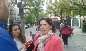 La parlamentaria de IU por Granada.