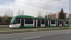 El metro en La Caleta, hoy.