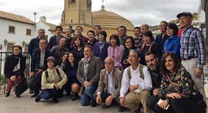Foto de familia del grupo en Montefrío.