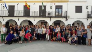 Participantes en el encuentro de Caniles.