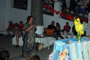 Un momento de 'La Noche Romántica' en Capileira.