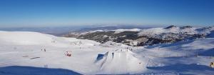 Vista del sector 3 del snowpark.