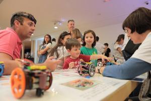 La Feria de la Ciencia se ha celebrado en el marco de unas Jornadas de Puertas Abiertas por el aniversario del Parque.
