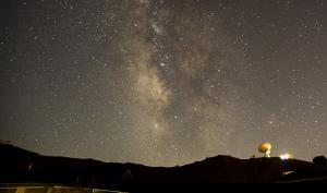 Impactante imagen del cielo en Sierra Nevada.