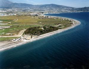 Una vista de Playa Granada, en Motril.