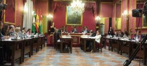 La declaración institucional ha sido aprobada por unanimidad.