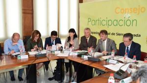 Reunión del Consejo de Participación de Sierra Nevada.