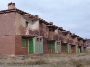 Antiguo poblado minero de Alquife.