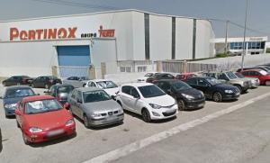 Instalaciones de Portinox, en Pulianas.