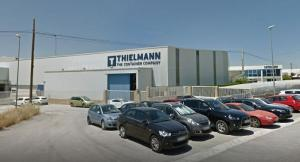 Instalaciones de Portinox, con su nueva denominación Thielmann.