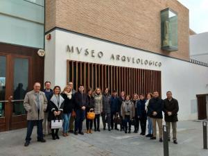 Cargos públicos del PP de Granada, Jaén y Almería, hoy en Baza.