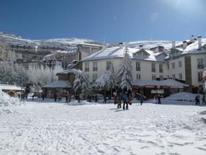 Pradollano presenta un aspecto netamente invernal.