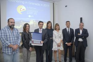 Cuenca, Díaz y Puentedura reciben el galardón turístico.