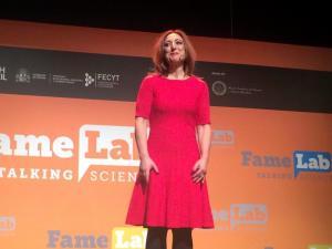 Margarita Sánchez durante su intervención.