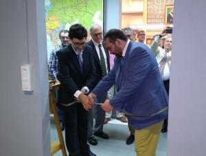 Inauguración de la nueva sala del museo del Padre Suárez.