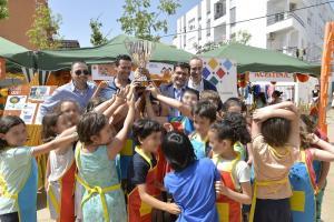 Los escolares de los 29 centros participantes han logrado reciclar 3.300 kilogramos de aceite doméstico.