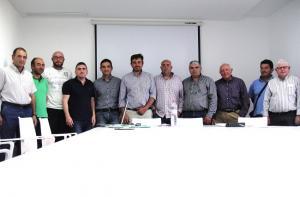Integrantes de la Comunidad de Regantes Siete Fuentes Negratín.