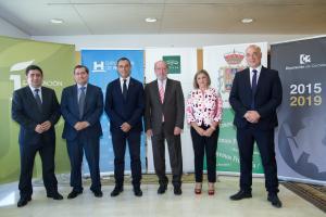 Entrena ha participado en una reunión con los presidentes de las diputaciones provinciales.