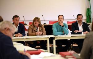 Ana Muñoz ha presidido la reunión celebrada este miércoles.