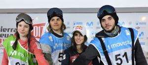 María Hidalgo, Josito Aragón, Queralt Castellet (ausente), y Aleix López (duda por una lesión), inscritos en el Campeonato de España.