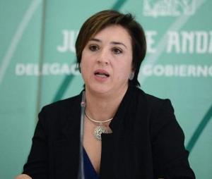 Sandra García, delegada del Gobierno andaluz en Granada.