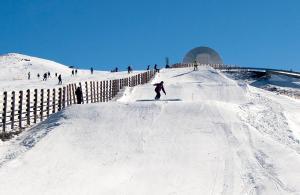 El sector 1 se acaba de incorporar al snowpark Sulayr.