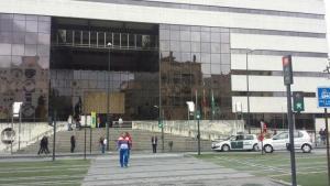 Edificio judicial de la Caleta.
