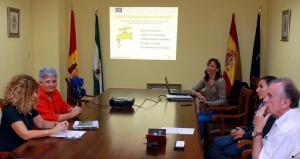 Autoridades explican el proyecto Ecogranularwater.