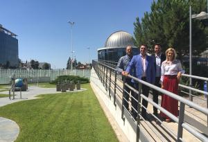 El consejero visita el Parque de las Ciencias, donde presentó las actividades.