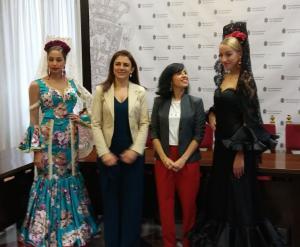 Presentación de la oferta turística en moda flamenca.