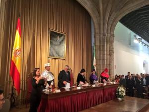 Inauguración del curso académico.