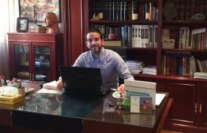 El investigador principal de este trabajo, Pablo José González Domenech, médico especialista en Psiquiatría.