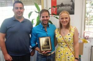 El equipo investigador premiado.