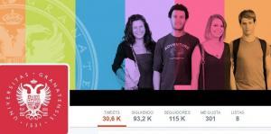 Cabecera del perfil de la UGR en Twitter.