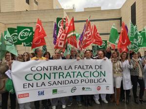 Protesta sindical este jueves en el Hospital del PTS.
